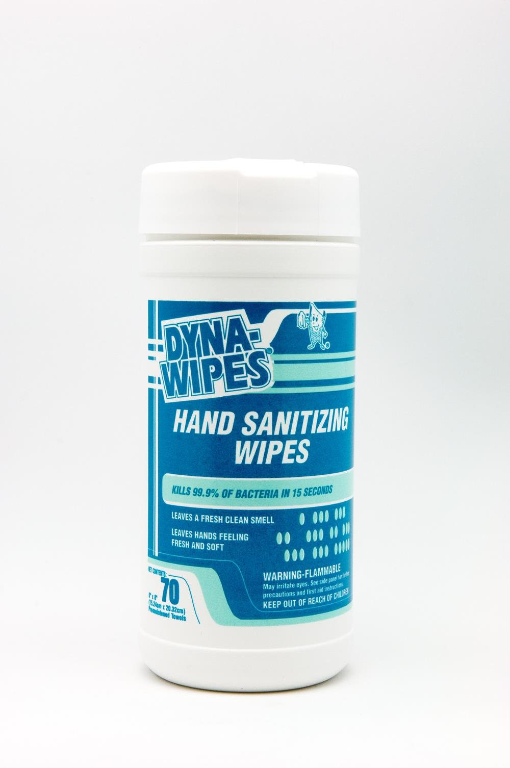 DYNA-WIPES ® HAND SANITIZING WIPES